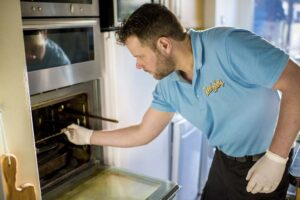 Removing all oven parts